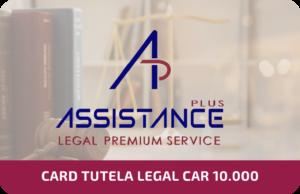 Card Tutela Legal Car 10.000€